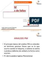Analisis PM - Diagramas de Fallos
