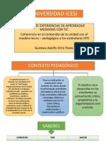 Tarea 3. Gustavo Ortiz. Coherencia en El Contenido Con El Modelo Tecno Pedagógico y Los Estándares ISTE