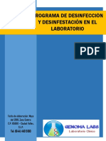 manual de desinfeccion