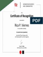 Aboitiz ABC Certificate