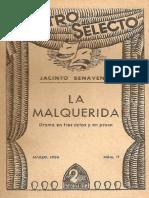 La Malquerida - Jacinto Benavente.pdf