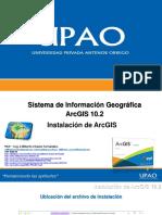 Instalacion ArcGIS
