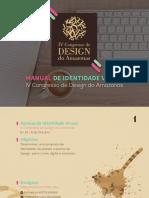 IV Congresso de Design Do Amazônas - Manual de Identidade Visual - Clicia Vidal - Design