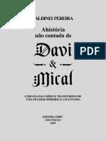 A História Não Contada de Davi e Mical