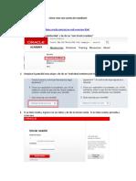 Instructivo Solicitar Cuenta Individual Oracle Academy