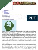 Marx y La Fractura en El Metabolismo Universal de La Naturaleza John Bellamy Foster