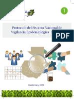 Sistema Nacional de Vigilancia Epidemiológica SINAVE