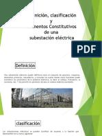 ELEMENTOS DE EN SUBESTACIONES ELÉCTRICAS