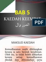 06 Kaedah Ke-4 (Al-Dharar Yazal)