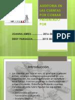 AUDITORIA EN LAS CUENTAS POR COBRAR.pptx