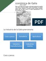 Vida Económica de Galia
