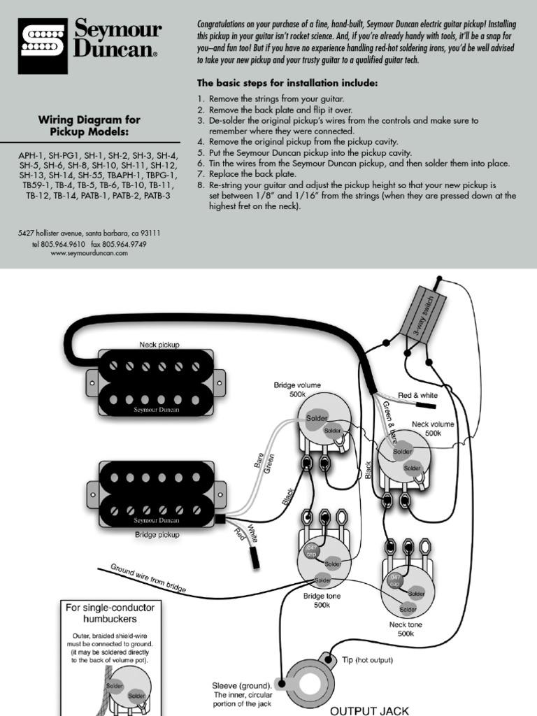 Seymour Duncan Tb5 Wiring Diagram John Deere L20 Wiring Diagram