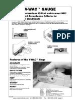 V-WAC™ GAUGE