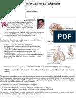 SH Lecture 2014 - Respiratory System Development
