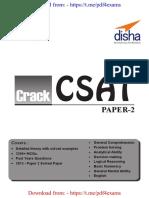 CRACK CSAT Paper 2 with Mock Te - Disha Experts [@PDF4Exams].pdf