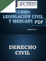 LEGISLACION CIVIL Y MERCANTIL-CLASE I-UNIDAD I.ppt