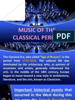2nd Grading Music Classical Period