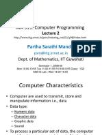 BCA-121 Computer Fundamental