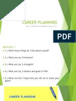 Career Planning 101