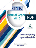 SPIK Annual Report 2016 - List of Major Players and Industries