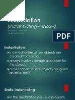 Instantiation (OOP)