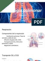 Fisiología Pulmonar