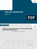W34SG Heat Rate Degradation