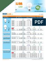 EcoLUM LED PRICELIST