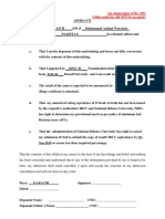 Undertaking Result Awaited Affidavit BS Applicants