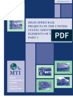 High-Speed Rail Projects in the United States