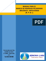 Manual Para El Manejo de Residuos Peligrosos Biologicos Infecciosos