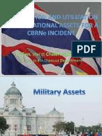 4 September 0900 - Chalermsuk Yugala_Mobilization & Utilization of Thai Ntl Assets for CBRN Incidents