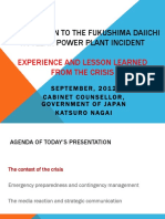 4 September 1100 - Katsuro Nagai_Introduction to the Fukushima Daiichi Nuclear Power Plant