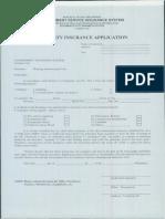 Fire Insurance Application