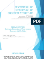 Concrete Structure Waffle Slab