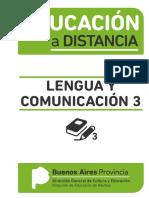 Educación a Distancia Lengua y Comunicación 3
