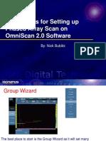 Basic steps for setup 2_0 SW.ppt