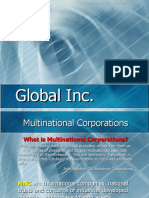 multinational coorperations