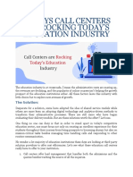 14 Ways Call Centers Are Rocking Today's Education Industry