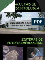 Lamparas de Fotopolimerizacion