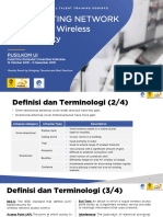 Wireless LAN Security for Cybersecurity Training