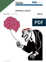 Bachiller (2018) Posverdad, Relativismo y Ciencia