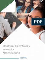 Guía Didáctica Robotica Electronica y Mecánica GD