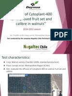 Cytoplant-400 ING Resultados Walnut