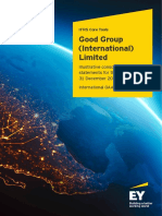 Ey Good Group International Limited Illustrative Consolidated Financial Statements December 2018