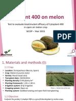 Cytoplant-400 ING Resultados Melon V1