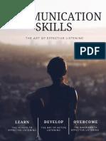 the Art of Effective Listening