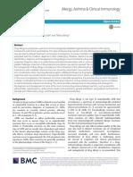 Allergy, Asthma & Clinical Immunology Volume 14 Issue S2 2018 [Doi 10.1186_s13223-018-0289-y] Warrington, Richard; Silviu-Dan, Fanny; Wong, Tiffany -- Drug Allergy