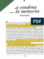 La Condena de La Memoria
