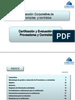 Certificacion Proveedores Contratistas 2010